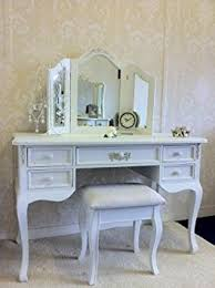 White Shabby Chic Dressing Table by Ornate White Dressing Table Computer Desk By Shabby Chic U0026 Vintage