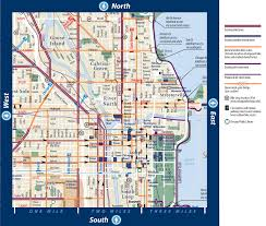 Chicago Parking Map by Map Of Chicago Illinois Vacations Travel Map Holiday