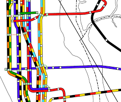 Subway Nyc Map by The Lost Nyc Subway Map That May Vastly Improve Modern Ones Wired