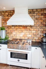 Rustic Kitchen Backsplash Best 20 Faux Brick Backsplash Ideas On Pinterest White Brick