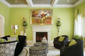 Brilliant  Green Walls Living Room Ideas Decorating Inspiration - Green paint colors for living room