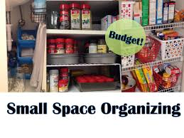 Kitchen Organization Ideas Small Spaces by Apartment Organization Small Space Organizing Youtube