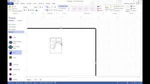 Find A Floor Plan Making A Floorplan In Visio Youtube