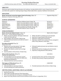 Nursing Student Sample Resume by Resume Example For Student Student Resume Template Free Samples