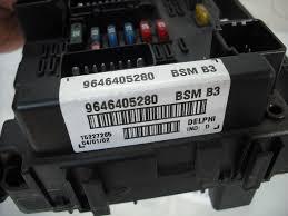 2001 Volvo S60 Fuse Box Genuine Peugeot 206 Engine Bay Fuse Box Control Module 9646405280