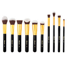 lavish elegance 15 piece makeup brush set bh cosmetics