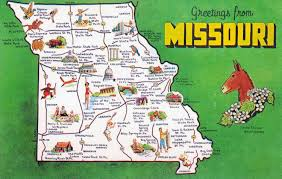 Large Map Of Usa by Large Detailed Tourist Map Missouri State Missouri State Large