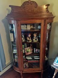 antique china cabinet opulence on spruce consignment shop