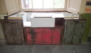 Vintage Kitchen Ideas Using Reclaimed Materials  Ecletic Styling - Kitchen sink cupboards