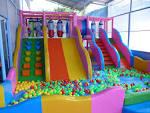 บ้านบอลโลกของเด็ก เครื่องเล่นสนาม ห้องศูนย์สื่อสันทนาการ ห้องตอมพิ ...
