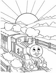 thomas coloring pages printable qlyview com