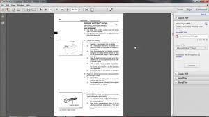 toyota engine 1zz fe repair manual youtube