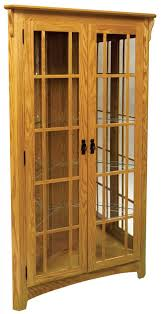 antique oak bookcase with glass doors curio cabinet oak corner curio cabinets with glass doors antique