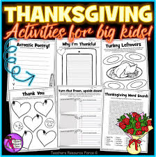 thanksgiving vocabulary pictures thanksgiving activities for teens