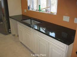 granite countertops no backsplash