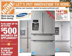 old black friday ads 2017 home depot kitchen brilliant black friday 2013 deals for refrigerators