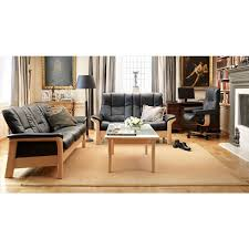 Low Back Sofa by Stressless Buckingham Low Back Sofa From 4 095 00 By Stressless