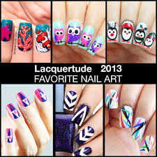 lacquertude 2013 top 10 nail art favorites lacquertude