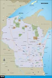 North Shore Chicago Map by Printable Travel Maps Of Wisconsin Moon Travel Guides
