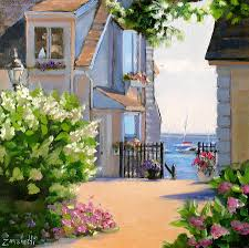 a cape cod paradise painting by laura lee zanghetti