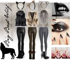 Wolf Halloween Costume 14 Beauty Images Costumes Hairstyles