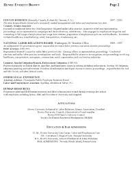 Legal Resume Sample by Resume Sample 7 Attorney Resume Labor Relations Executive