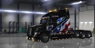 american volvo trucks volvo vnl 670 by aradeth american flag skin mod american truck