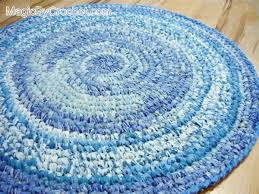Rugs Kitchen Blue Rag Rug Nursery Rug Kitchen Rug Handmade Rug