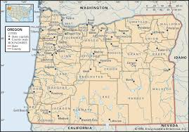 Newport Oregon Map by State And County Maps Of Oregon