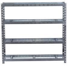 slickdeals home depot black friday 4 shelf gladiator welded steel shelving unit 8000lb capacity