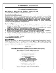 Resumes For Jobs Examples by Executive Assistant Resume Example Sample