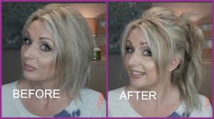 high ponytail with extensions on short fine hair irresistible me