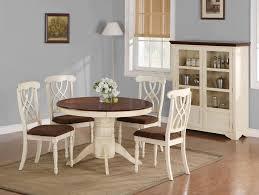 white pedestal table dining room beautiful white aubrey 5 piece