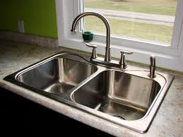 Kitchen Sink With Faucet Set Photos Of Kitchen Sinks And Faucets Home Design Interior And