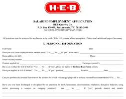 Application Resume Example by Heb Job Application Whitneyport Daily Com