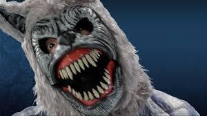 vampire fangs spirit halloween werewolf mask ani motion mask youtube