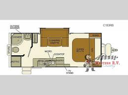 Evergreen Travel Trailer Floor Plans by New 2017 Evergreen Rv I Go Cloud Series C183rb Travel Trailer At