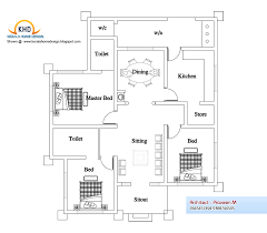 Simple 4 Bedroom Floor Plans 48 Simple Small House Floor Plans India 35 Small And Simple But