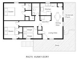 small one floor house plans arts