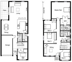 2 storey house design and floor plan home act