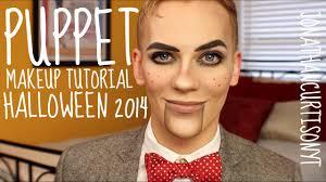 Halloween Doll Makeup Ideas by Puppet Makeup Tutorial Halloween Jonathancurtisonyt Youtube