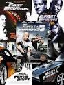 Fast & Furious 1-6 เร็ว…แรง ทะลุนรก ภาค 1-6 / 6 DVD มาสเตอร์ (2 ภาษา)