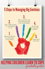ideas about Anxiety In Children on Pinterest   Separation     A calm down plan to help children of all ages learn to manage big emotions in
