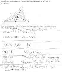 median concurrence proof students are asked to prove that the