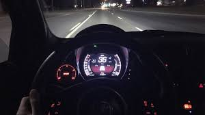 pov night drive 2015 fiat 500 abarth 5 speed manual youtube
