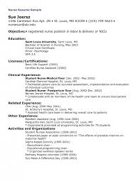 Registered Nurse Resume Examples by Resume Experienced Nurse Resume Examples