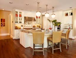 What Is The Best Lighting For A Kitchen by Furniture Appealing Corian Countertop With Sink And Brown Chairs