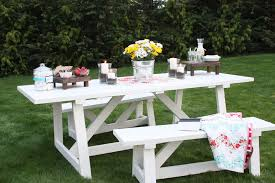 Building Outdoor Wood Furniture by Ana White Providence Table Diy Projects