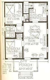 Chicago Bungalow Floor Plans Rodessa Sears Modern Homes