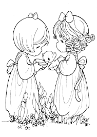 precious moments coloring pages coloring 4 kids precious